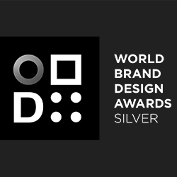 SILVER – WORLD BRAND DESIGN AWARDS